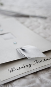 Handmade wedding stationery by Golda Publishing